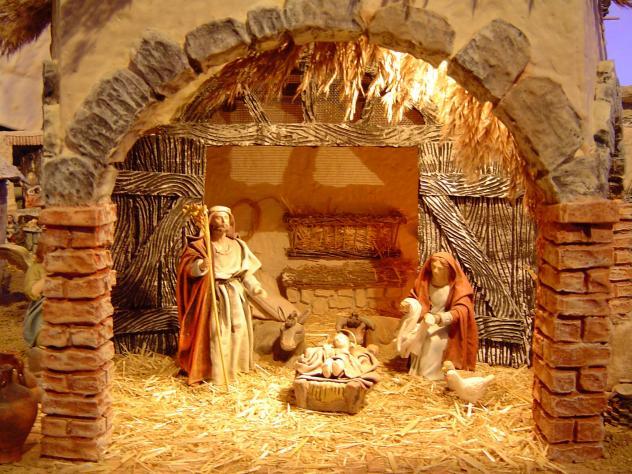 Fotos De El Pesebre De Jesus.Jesus Nacio En Un Pesebre Torrelara Burgos