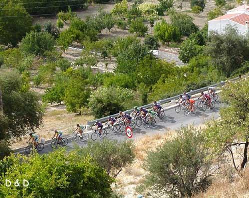 Vuelta ciclista 2003 desde la carrasquilla los villares - Tiempo los villares jaen ...