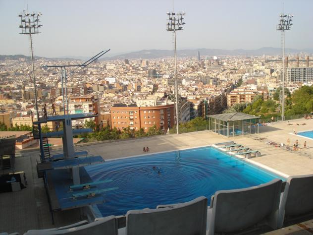 Piscina ol mpica barcelona for Piscina olimpica barcelona