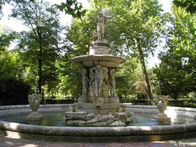 Jardin del principe fuente de narciso aranjuez madrid - Jardin del principe aranjuez ...