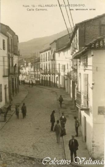 Antigua calle carrera villanueva del arzobispo ja n - El escondite calle villanueva ...