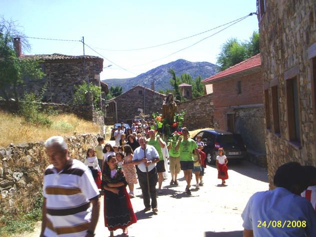 Subida De La Virgen Colmenar De La Sierra Guadalajara