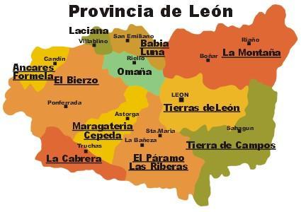 Mapa Leon Pozos Leon