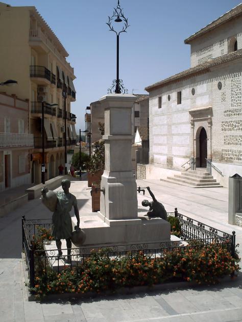 Fuente de la iglesia atarfe granada - Santa ana atarfe ...