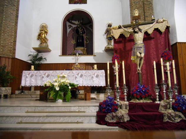 Cristo de la Caridad al culto, HINOJOSA DEL DUQUE (Córdoba)