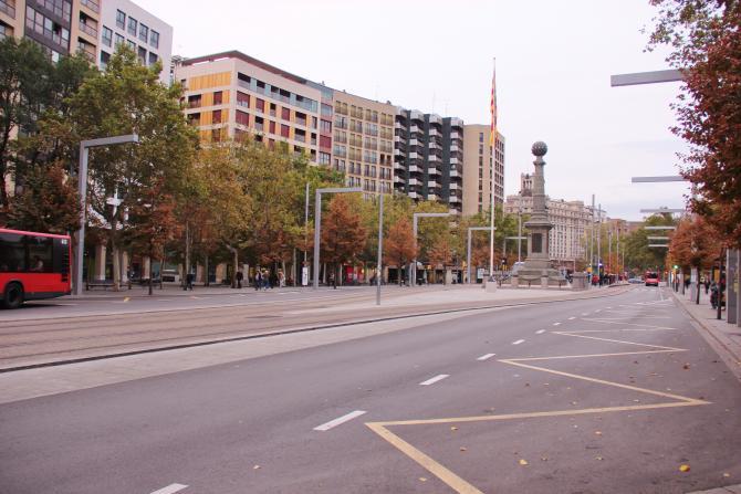 Plaza de arag n zaragoza for Dormir en zaragoza centro