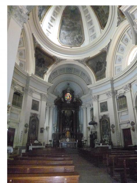 Interior De La Iglesia De San Marcos Madrid