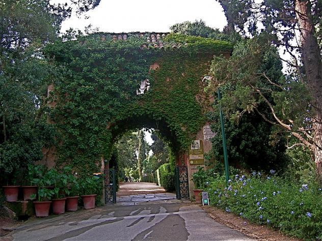 Entrada jardines santa clotilde lloret de mar gerona for Jardines de santa clotilde