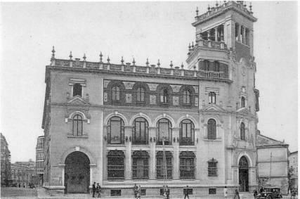 antiguo edificio de correos valladolid