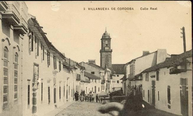 Calle real principios siglo xx villanueva de cordoba c rdoba - El escondite calle villanueva ...