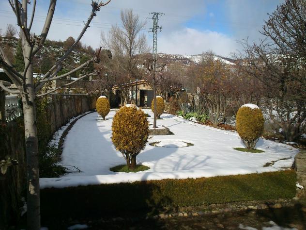 El jard n hoy nevado canales le n for El jardin leon