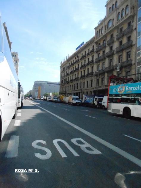 Ronda universitat cap a pla a catalunya barcelona - Placa universitat barcelona ...