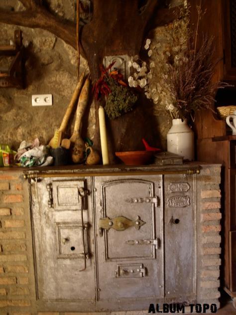 Cocina de le a antigua acebo c ceres - Fotos de cocinas de lena antiguas ...