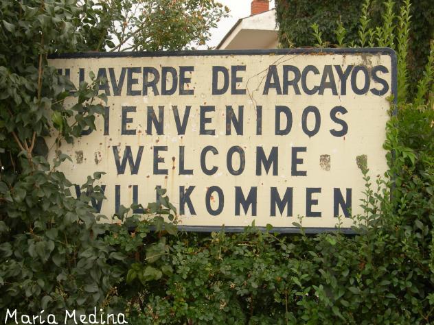 La Bienvenida Al Pueblin Villaverde De Arcayos Leon