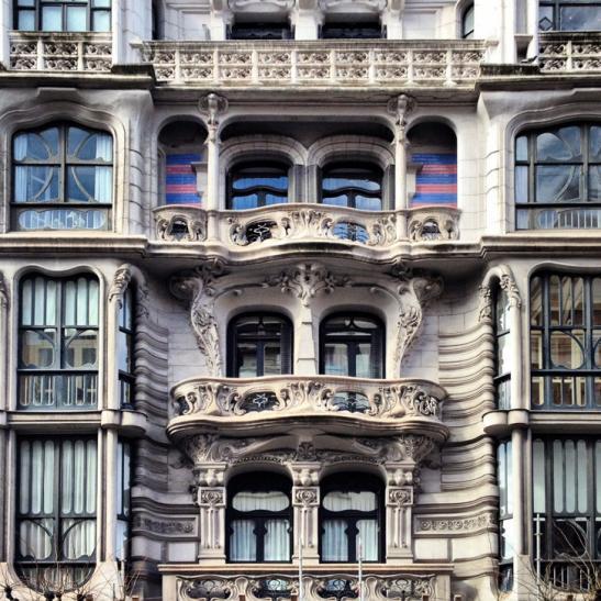 Casa montero fachada bilbao vizcaya - Casa en bilbao ...