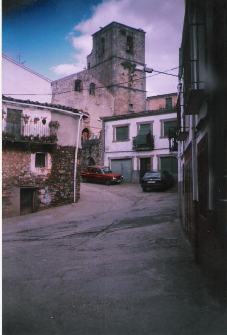 Calle de la iglesia villanueva de la sierra c ceres - El escondite calle villanueva ...