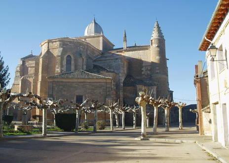 Iglesia Desde El Parche Melgar De Fernamental Burgos