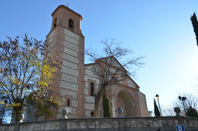 Vista lateral de la parroquia pinto madrid - Fotos de pinto madrid ...