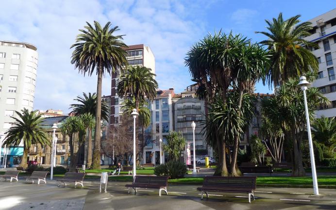 Los jardines de la reina gijon asturias for Letras gijon jardines de la reina