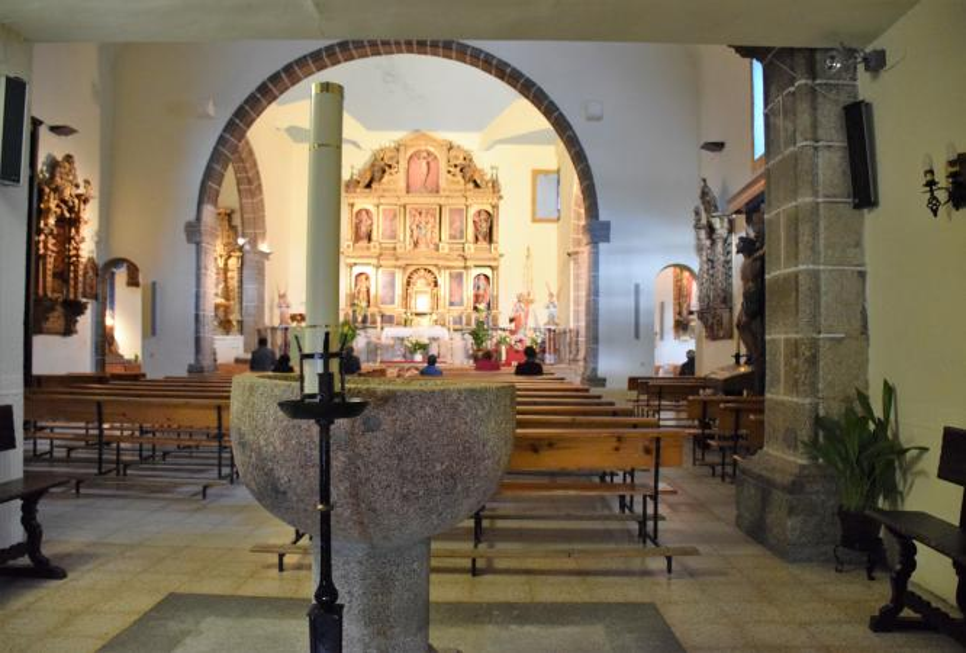 Pila bautismal de Baños de Montemayor