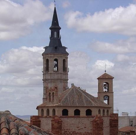 Torre de la iglesia de santa catalina la solana ciudad real - Parroquia santa catalina la solana ...