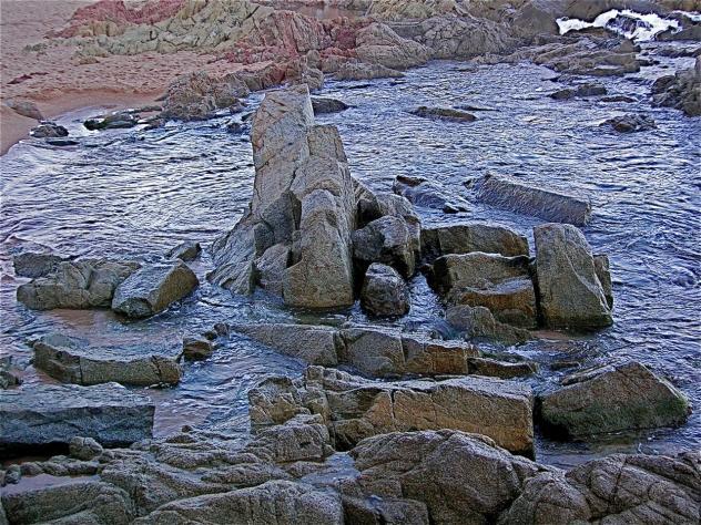 Rocas En La Mar, LLORET DE MAR (Gerona