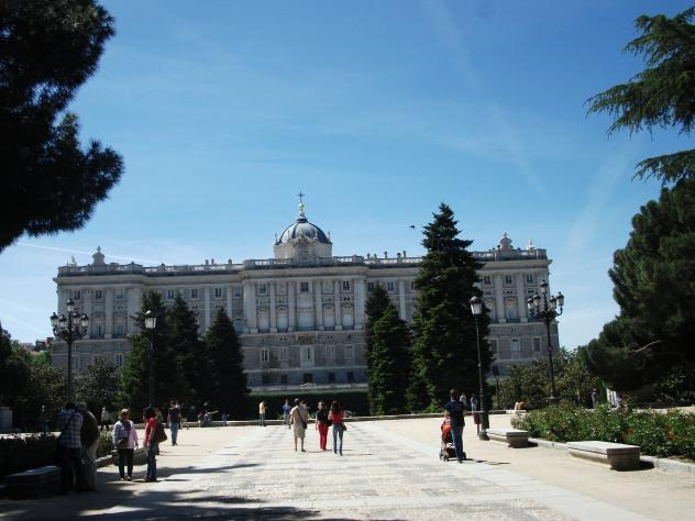 Palacio madrid for Palacio de la comunidad de madrid
