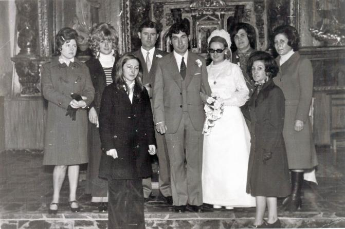 fotos antiguas boda gini carrizo de la ribera le n