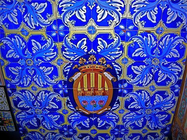 Escudo museu del taulell museo del azulejo onda castell n - Azulejos onda castellon ...