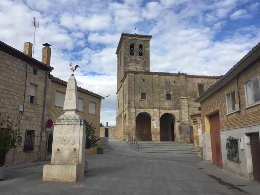 La iglesia parroquial de San Román, HORNILLOS DEL CAMINO (Burgos)