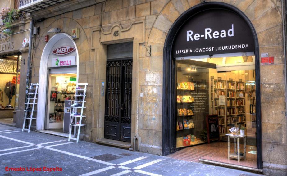 Calle Zapateria-Re-Read, PAMPLONA (Navarra)