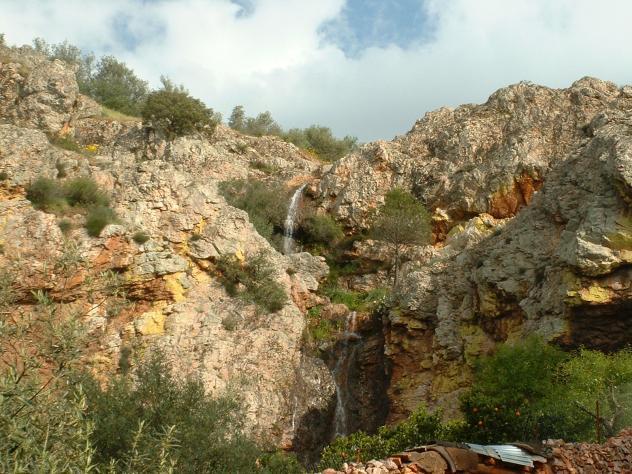 La Cascada De El Chorrero Orellana De La Sierra Badajoz