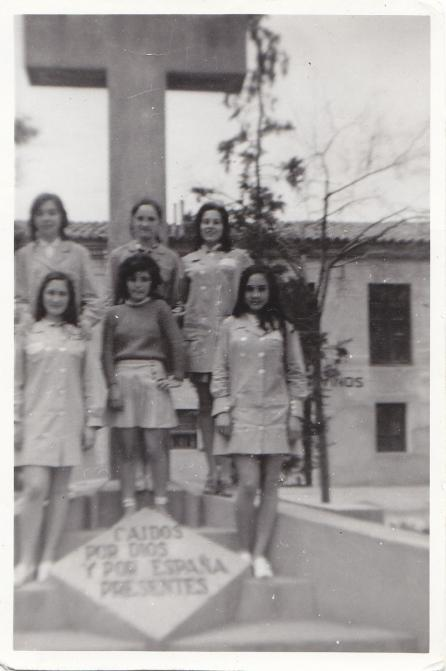 Amigas en el colegio p blico de casetas mur 1970 - Tiempo en casetas zaragoza ...