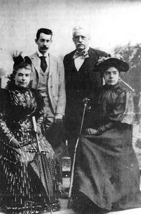Valera con su esposa e hijos lepanto do a mencia c rdoba - Fotos de dona mencia ...