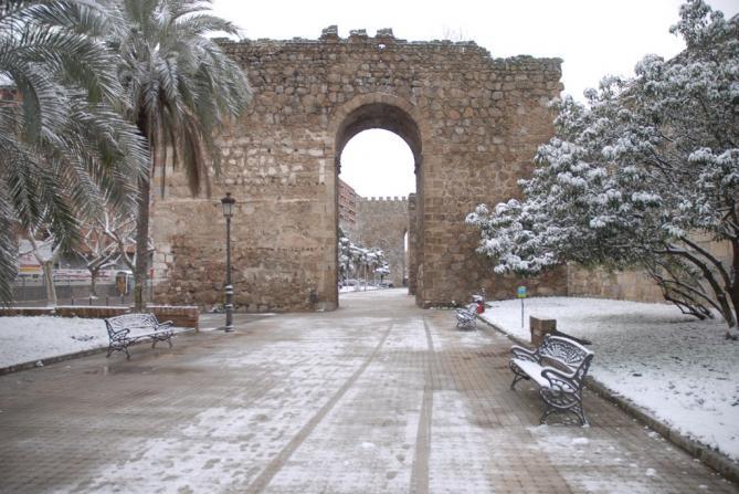 Nieve en las murallas talavera de la reina toledo - El mercadillo de talavera ...