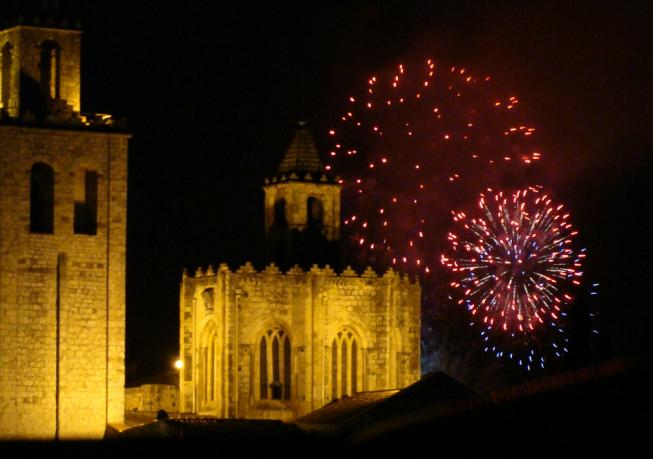 Castell de focs sant cugat del valles barcelona - Temperatura actual en sant cugat del valles ...