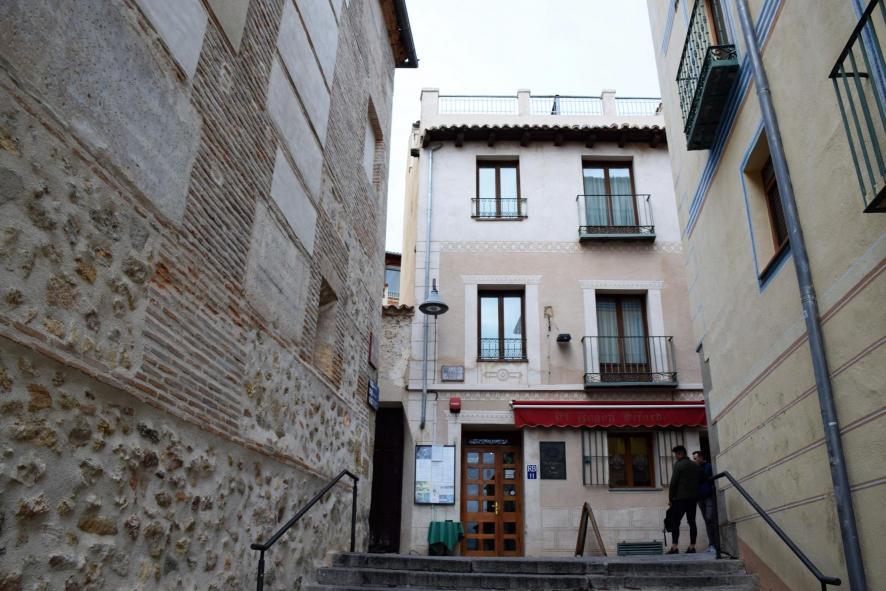 Calle A Puerta Del Sol Segovia