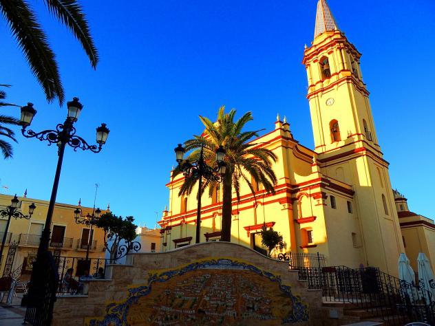 Resultado de imagen de Iglesia de San Antonio Abad trigueros
