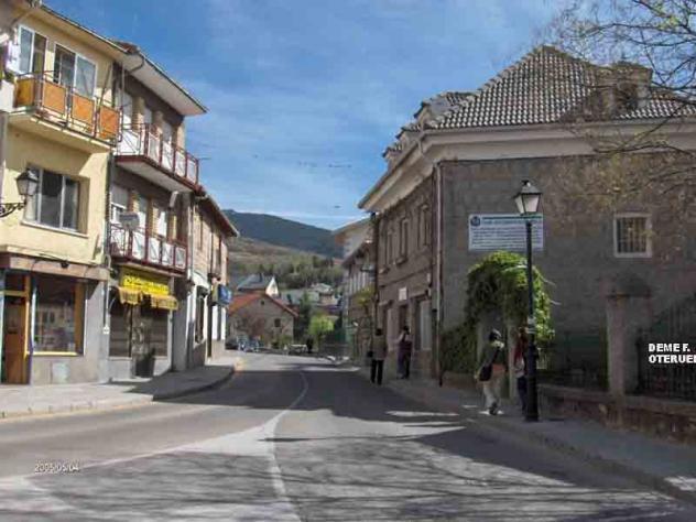 Calle pueblo, CERCEDILLA (Madrid)