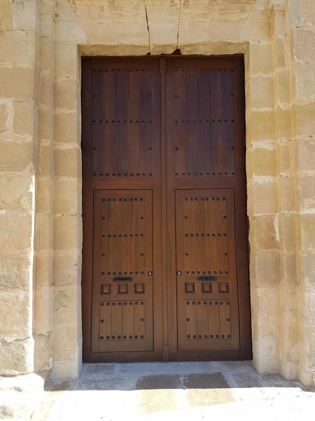 Puerta Nueva De La Iglesia De San Mart N De Ca Averas