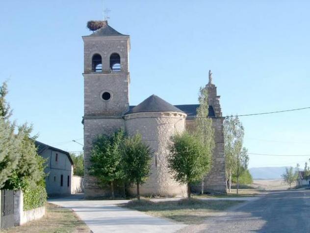 Resultado de imagen de Vellosillo. La iglesia parroquial