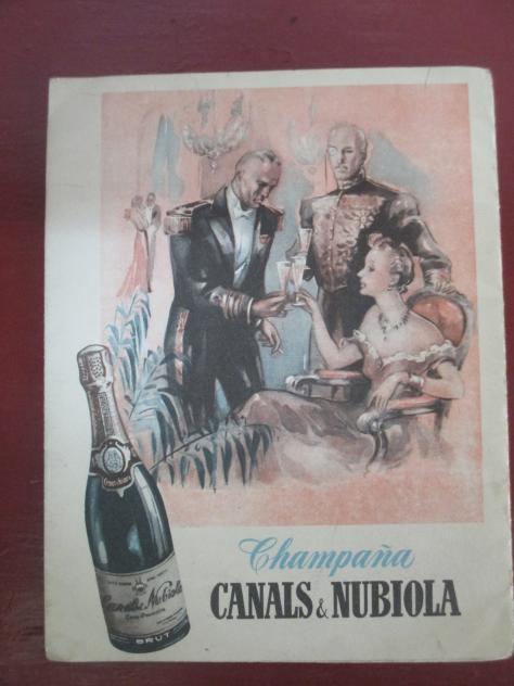 Publicidad de los a os 50 de canals y nubiola sant sadurni d 39 anoia barcelona - Tiempo en sant sadurni d anoia ...