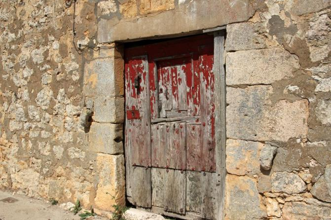 Puerta de casa antigua pesadas de burgos burgos for Puertas para casas antiguas