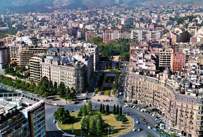 Plaza De Calvo Sotelo Barcelona