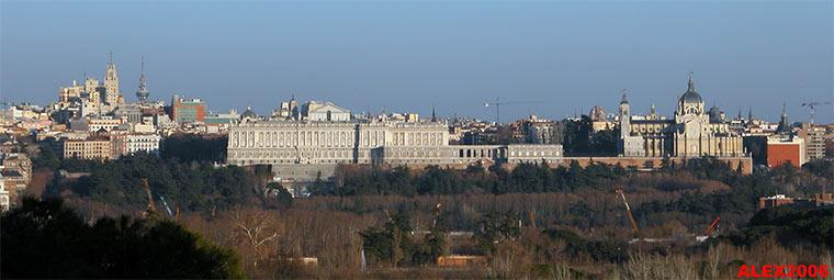 Palacio real vista desde la casa de campo madrid - Hoteles casa de campo madrid ...