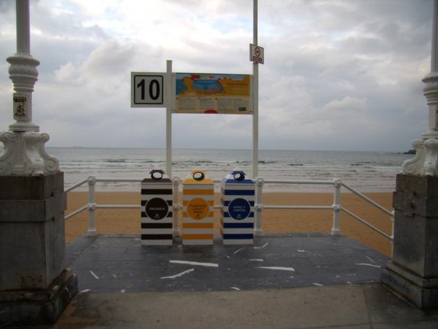 escalera 10 playa de san lorenzo gijon asturias