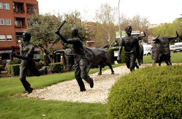Monumento al encierro san sebastian de los reyes madrid for Viviendas en san sebastian de los reyes