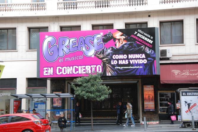 Teatro Rialto Grease Madrid