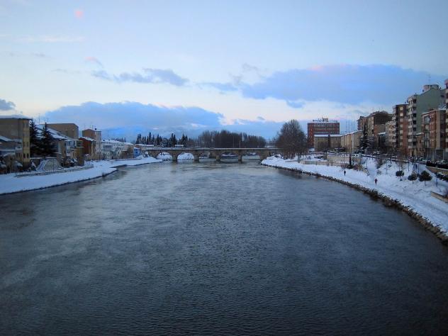 Panoramica con nieve miranda de ebro burgos for Hoteles en miranda de ebro burgos