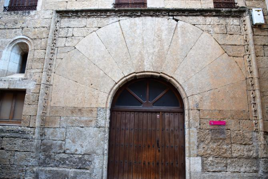 Portada de la casa de la cadena ciudad rodrigo salamanca - Casa de la cadena ...
